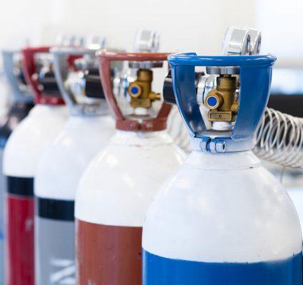 Khí argon dùng trong công nghiệp