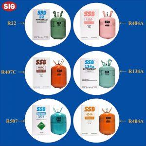 Cung cấp các loại gas lạnh công nghiệp