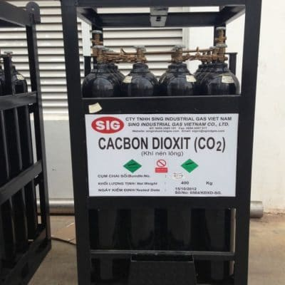 Cung cấp khí CO2 công nghiệp