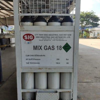 Cung cấp khí trộn công nghiệp